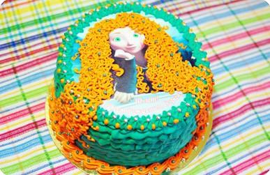 Торт «Храбрая сердцем»