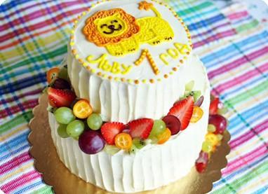 Торт со львенком