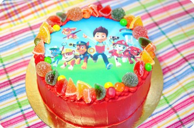 Торт «Щенячий патруль»
