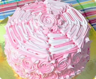 Торт «Зима» безмолочный