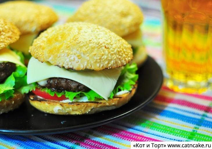как приготовить гамбургеры