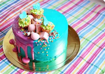 Торт с мини-тарталетками