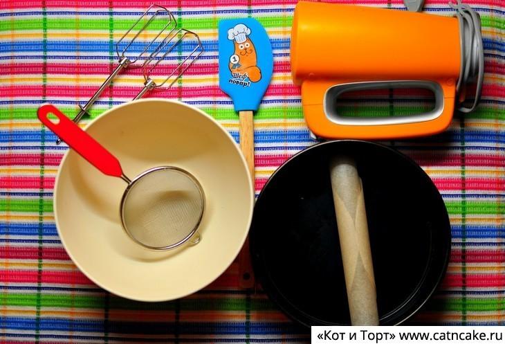 Как приготовить банановый пирог инструменты