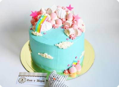 Небесный торт «Единорожка»