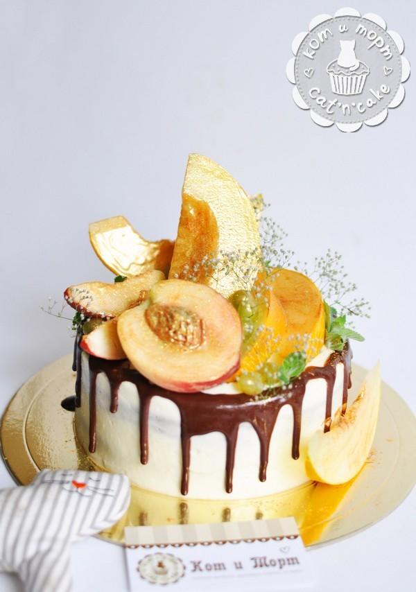 Торт с дыней
