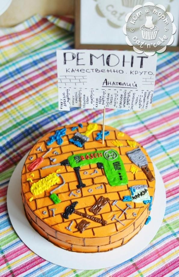 Торт для мастера на все руки