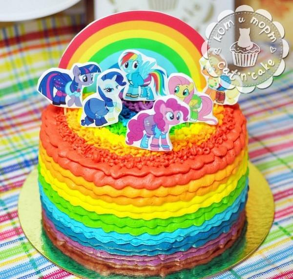 Торт «Мой маленький пони»