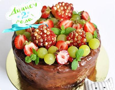 Торт «Мятный закат»