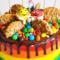 Торт с конфетами «M&M`s»