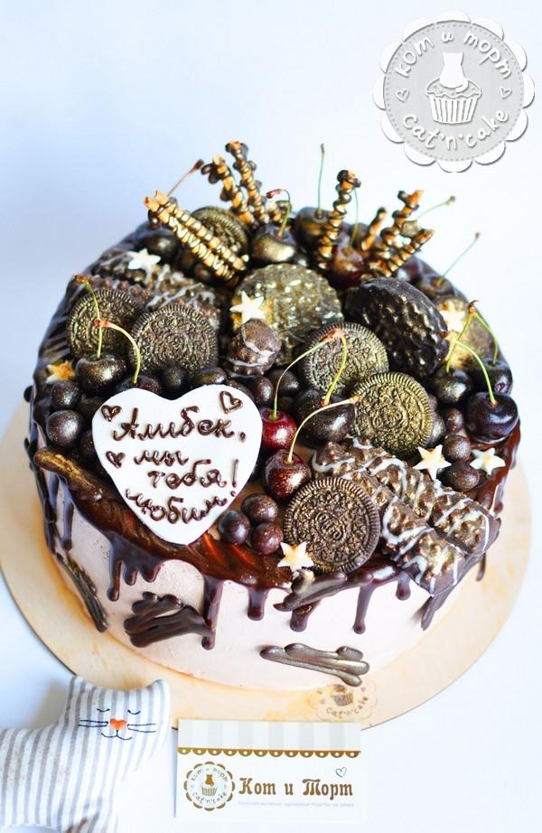 Торт с пружинками