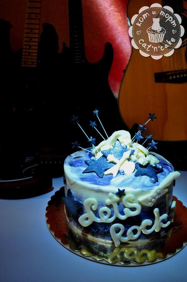 """Торт """"Let`s rock!"""""""