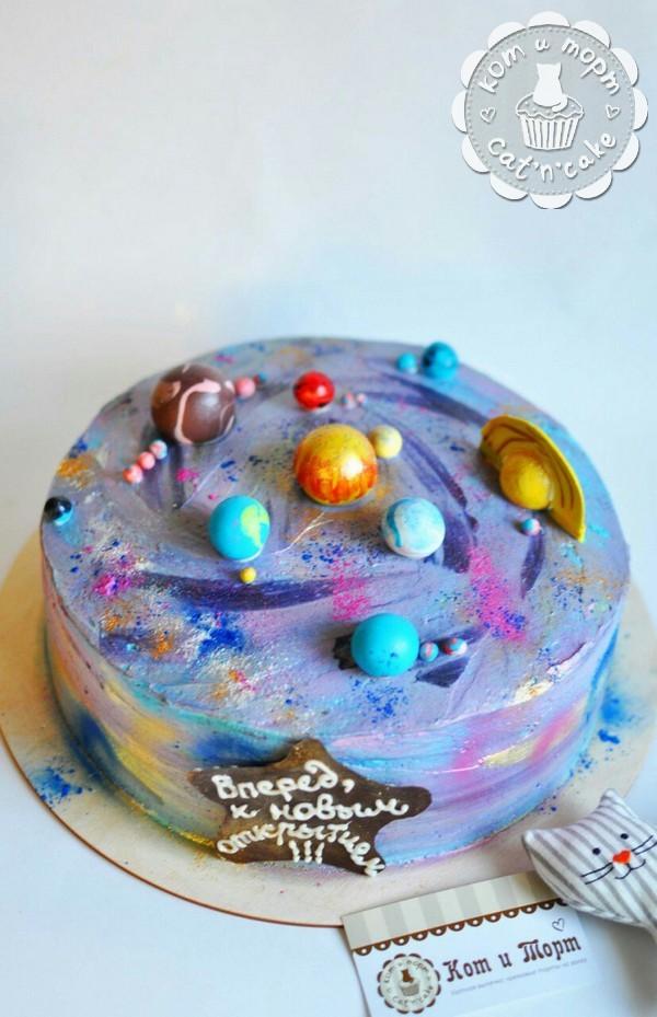 Космическо-астрономический торт