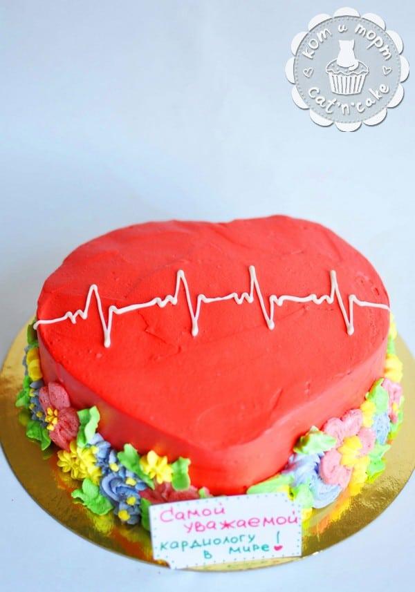 Торт-кардиограмма