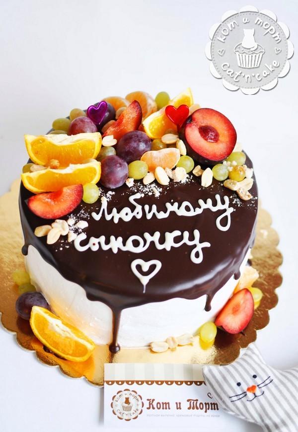 Торт для любимого сыночка