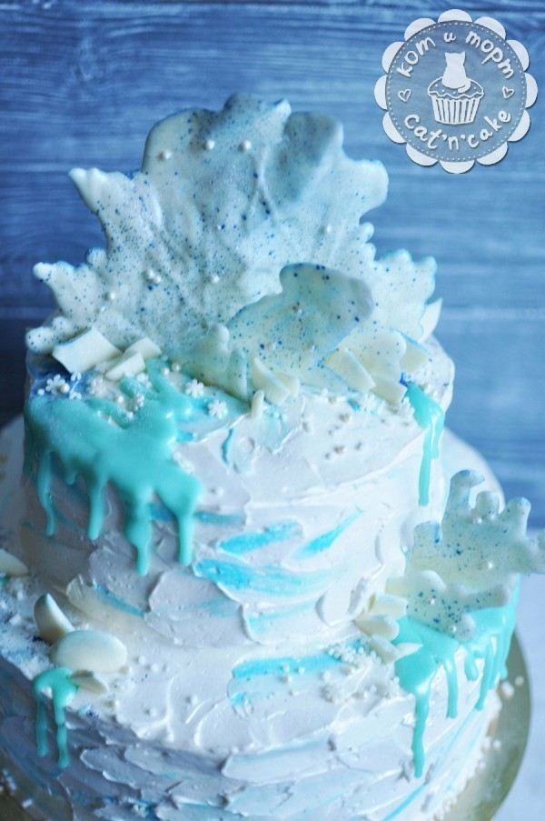Торт для Снежной Королевы