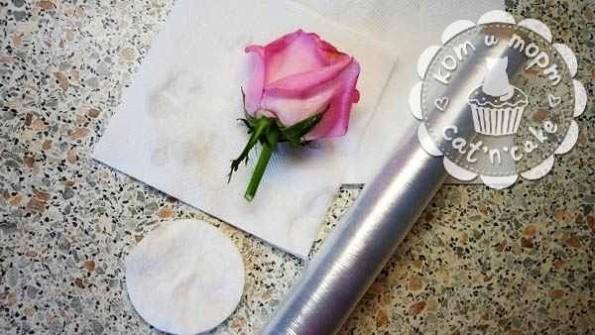 Как украсить торт живыми цветами06