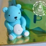 Фигурка из мастики «Медвежонок»