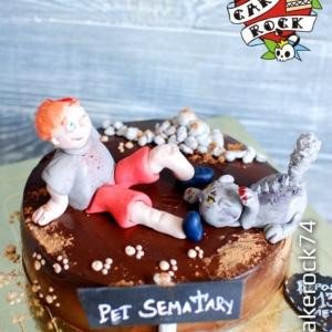 Торт Кладбище домашних животных cakerock