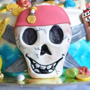 Торт с черепом cakerock