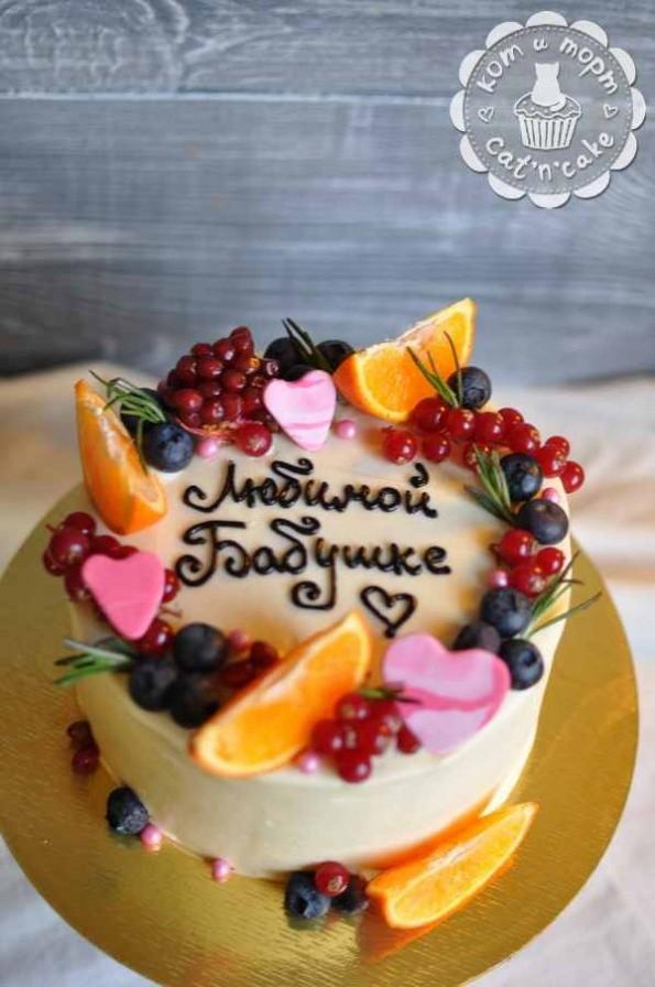 Торт для любимой бабушки