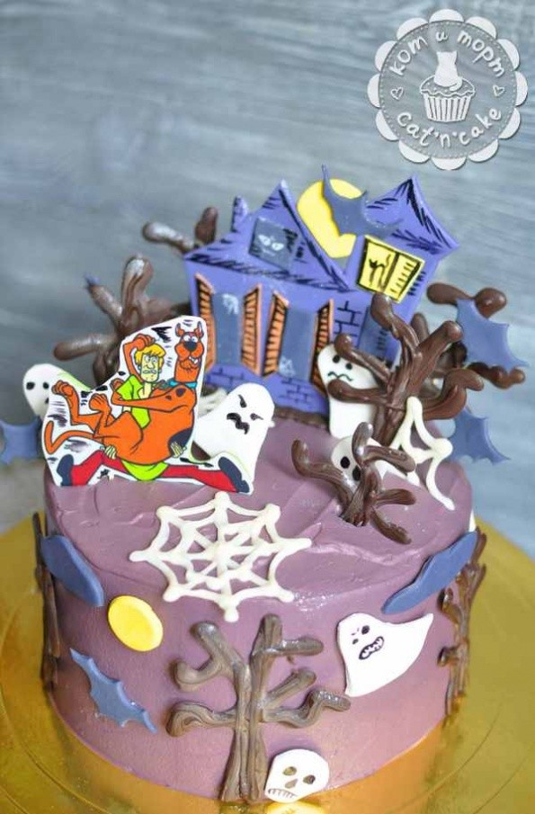 Торт «Дом с привидениями»