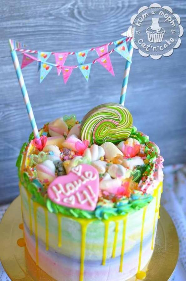 Торт с леденцом