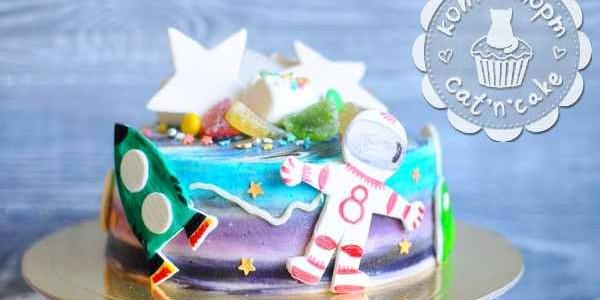 Торт для космонавтов