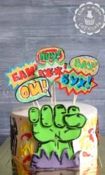 Торт с Халком