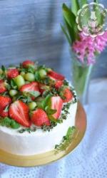 Торт суперклубничный