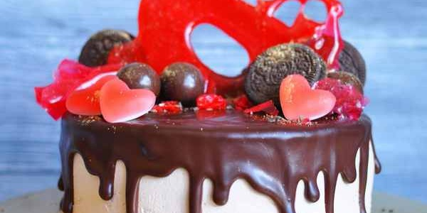 Торт с карамелью-2