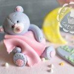 Торт с Мишкой и полумесяцем-2