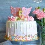 Торт с розовыми крыльями-2