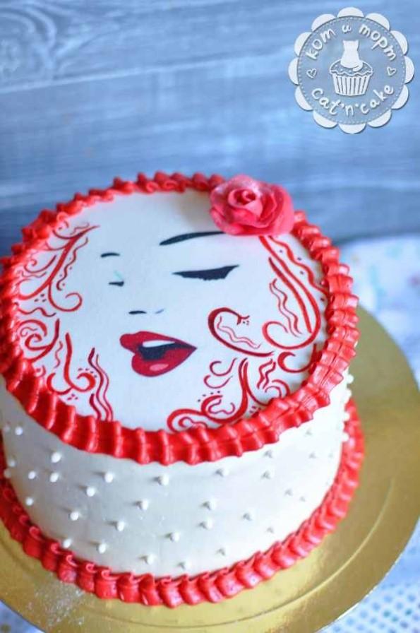 Торт стильный