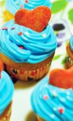 Капкейки с печеньем