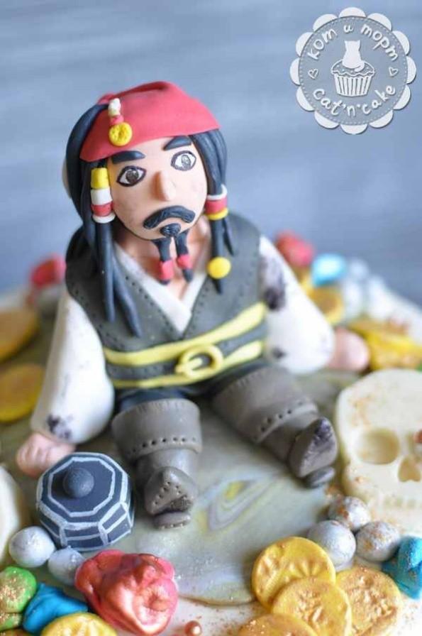 "Торт ""Пираты Карибского моря"""