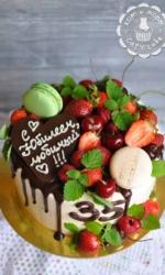 Вкуснейший торт на юбилей
