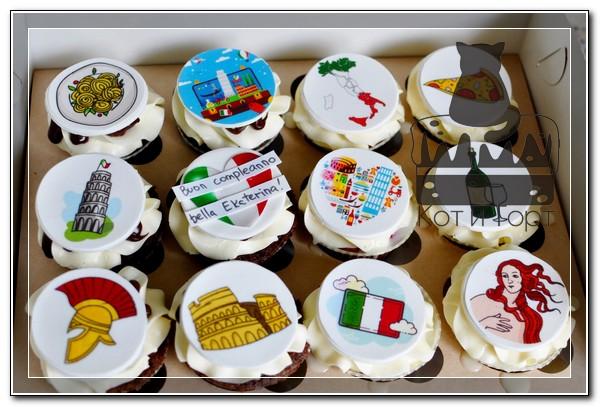 Итальянские капкейки