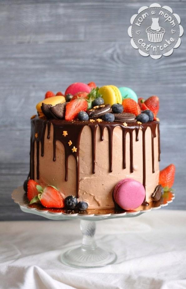 Торт «Разнузданная цветотерапия»