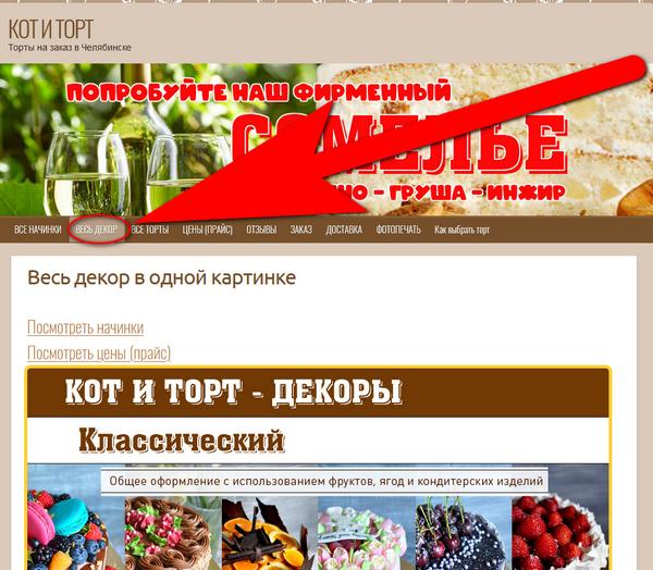 Путеводитель по сайту