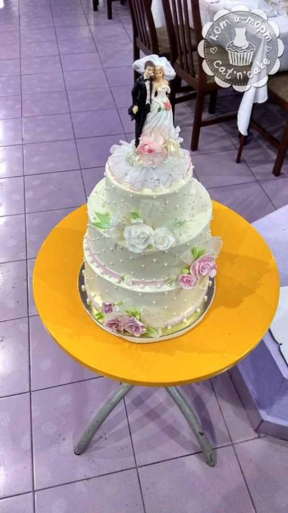как собрать свадебный торт25