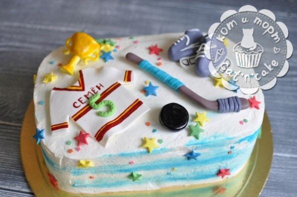 Торт для хоккеиста