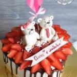 Торт с мишками для Олеси