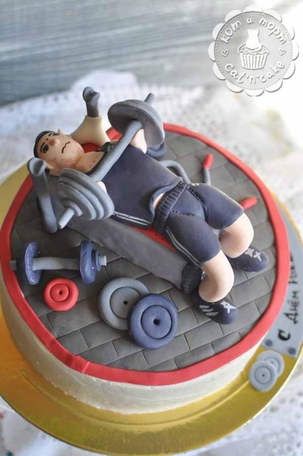 Торт для спортсмена