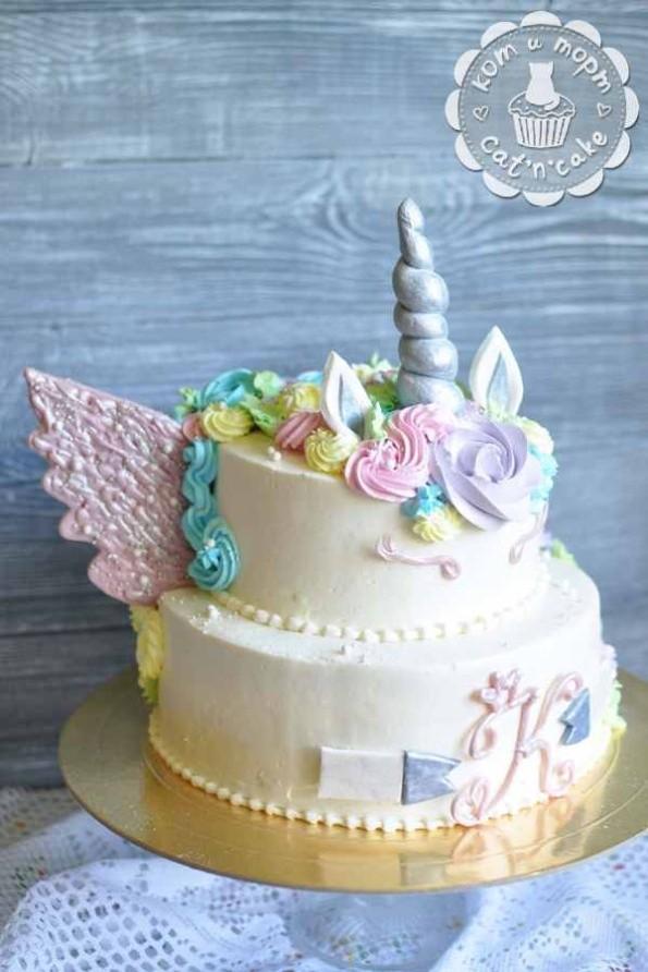 Торт-единорожка