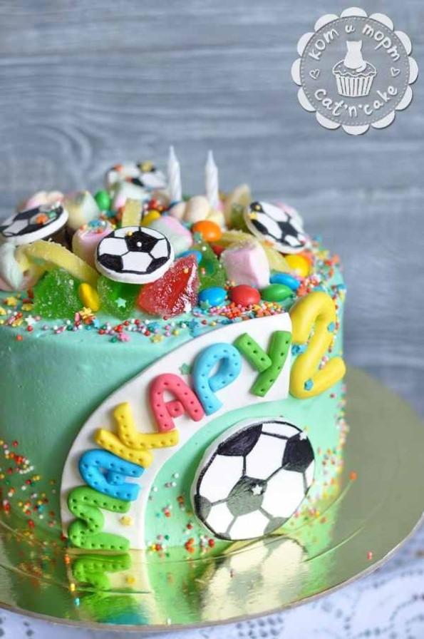 Торт на двухлетие