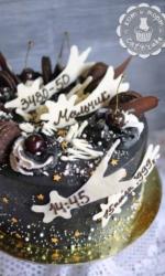 Космический торт на день рождения