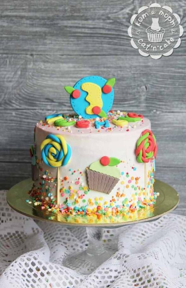 Леденцовый торт