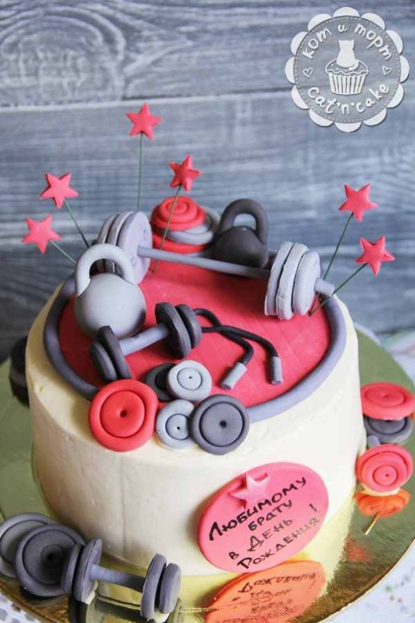 Торт для силача
