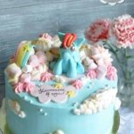 Торт с поняшкой