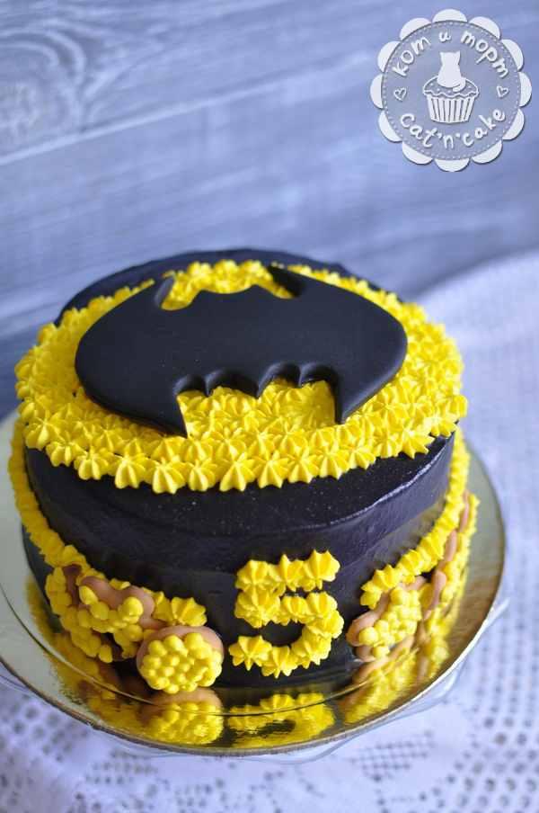 Торт для маленького Бэтмена